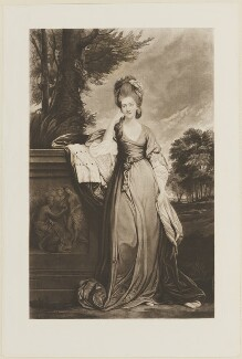 Anne Townshend (née Montgomery), Marchioness Townshend, after Sir Joshua Reynolds, (1779-1780) - NPG D14344 - © National Portrait Gallery, London