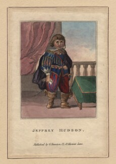 Jeffrey Hudson, after Unknown artist - NPG D17992
