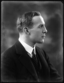 Roundell Cecil Palmer Wolmer, 3rd Earl of Selborne, by Bassano Ltd - NPG x122811