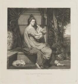 Harriet Bouverie (née Fawkener, later Lady Robert Spencer), by and published by Samuel William Reynolds, after  Sir Joshua Reynolds - NPG D14346