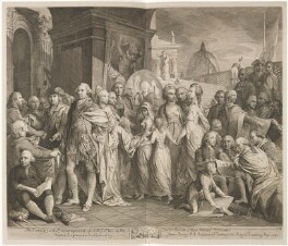 'The Society for the Encouragement of Arts &c in the distribution of their annual premiums', by James Barry - NPG D14352