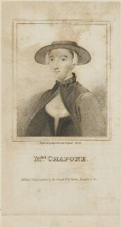 Hester Chapone (née Mulso), by R. Page, published by  George Cowie - NPG D14354