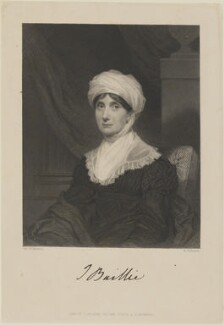 Joanna Baillie, by John Henry Robinson, published by  Longman, Brown, Green & Longmans, after  Sir William John Newton - NPG D14361
