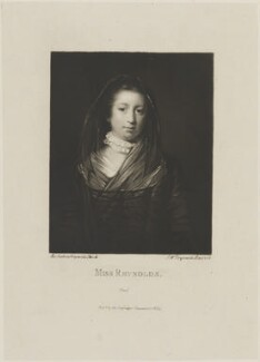 Frances Reynolds, by and published by Samuel William Reynolds, after  Sir Joshua Reynolds - NPG D14366