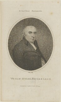William Seward, by William Ridley, published by  John Sewell, after  John George Wood - NPG D14367