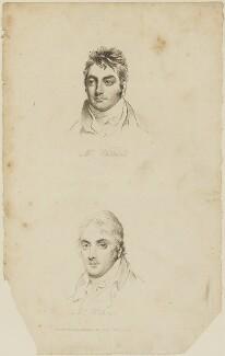 Samuel Whitbread; Sir Benjamin Hobhouse, 1st Bt, published by Sir Richard Phillips - NPG D14368