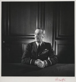Cyril Louis Norton Newall, 1st Baron Newall, by Cecil Beaton - NPG x14159