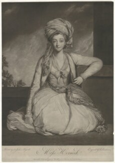 Mary Gwyn (née Horneck), by Robert Dunkarton, published by  Walter Shropshire, after  Sir Joshua Reynolds - NPG D18006