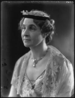 Marie Frances Lisette Verney (née Hanbury), Lady Willoughby de Broke, by Bassano Ltd - NPG x34625