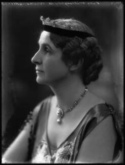 Marie Frances Lisette Verney (née Hanbury), Lady Willoughby de Broke, by Bassano Ltd - NPG x34627