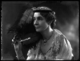 Marie Frances Lisette Verney (née Hanbury), Lady Willoughby de Broke, by Bassano Ltd - NPG x34628