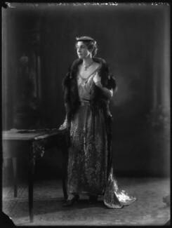 Marie Frances Lisette Verney (née Hanbury), Lady Willoughby de Broke, by Bassano Ltd - NPG x34631