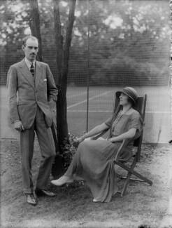 Prince Andrew Alexandrovitch of Russia; Elisaveta Fabrizievna (née Ruffo), Princess Alexandrovitch of Russia, by Bassano Ltd, 10 August 1923 - NPG x37281 - © National Portrait Gallery, London