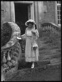 Judith Anne Dorothea Blunt-Lytton, 16th Baroness Wentworth, by Bassano Ltd - NPG x30876