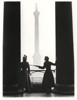 Barbara Goalen (later Campbell); Wenda Parkinson (née Rogerson), by Norman Parkinson - NPG x30072