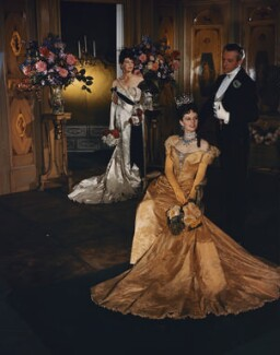 On the set of 'Lady Windermere's Fan', by Cecil Beaton - NPG x40649