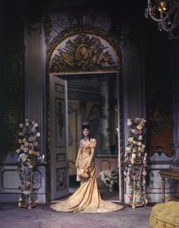 Penelope Dudley-Ward on the set of 'Lady Windermere's Fan', by Cecil Beaton - NPG x40650