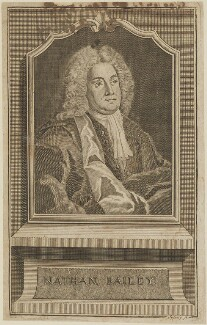 Nathan Bailey, by Johann Christoph Sysang - NPG D14395