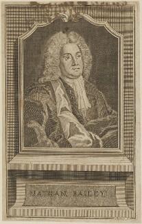 Nathan Bailey, by Johann Christoph Sysang - NPG D14395