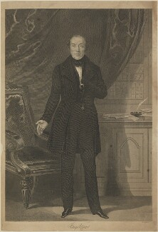 Feargus Edward O'Connor, possibly by William Read - NPG D14396
