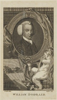 William Dodd, by John Goldar, after  Dodd - NPG D14398