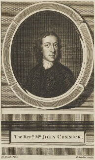 John Cennick, by Thomas Kitchin, after  M. Jenkin - NPG D14401