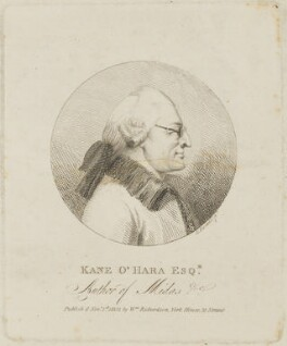 Kane O'Hara, by Edmund Dorrell, published by  William Richardson - NPG D14402