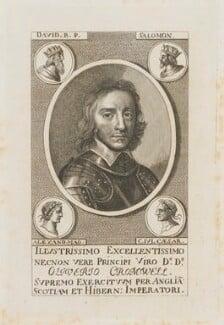 Oliver Cromwell, after Robert Walker - NPG D14408