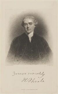 Henry Thrale, by Edward Scriven, published by  John Samuel Murray, after  Sir Joshua Reynolds - NPG D14412