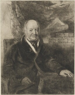 Molesworth Phillips, by Andrew Geddes - NPG D14421