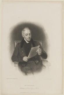 John Samuel Murray, by Edward Francis Finden, published by  Charles Tilt, after  Henry William Pickersgill - NPG D14423