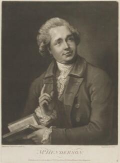 John Henderson, by and published by John Jones, after  Thomas Gainsborough - NPG D14430