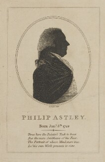 Philip Astley, by J. Smith - NPG D14432