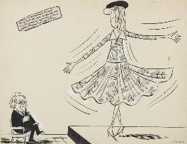 Harold Wilson, by Victor Weisz - NPG 6635