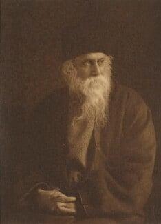 Rabindranath Tagore, by William Fearon Halliday - NPG P992