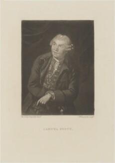 Samuel Foote, by Samuel William Reynolds, after  Sir Joshua Reynolds - NPG D14435