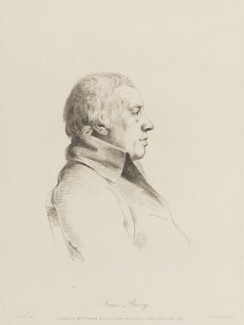 James Barry, by William Daniell, after  George Dance - NPG D14443