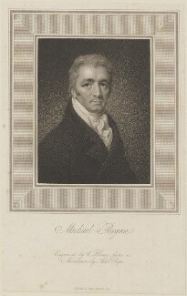Michael Bryan, by William Haines, published by  James Carpenter, after  Alexander Pope - NPG D14445