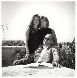 Michael Nyman; Mollie Nyman; Martha Nyman, by Emily Andersen - NPG x45676