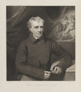 Thomas Stothard, by and published by William Henry Worthington, after  George Henry Harlow - NPG D14449