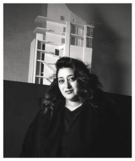 Dame Zaha Hadid, by Emily Andersen - NPG x45673