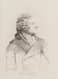 Richard Cosway, by William Daniell, after  George Dance - NPG D14454