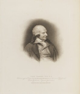 Paul Sandby, by Henry Landseer, published by  T. Cadell & W. Davies, after  William Evans, after  Sir William Beechey - NPG D14455