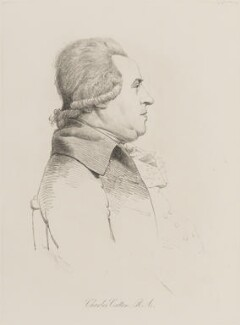 Charles Catton the Elder, by William Daniell, after  George Dance - NPG D14456