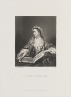 La Contessa della Rena, by George Salisbury Shury, published by  Henry Graves, after  Sir Joshua Reynolds - NPG D14460