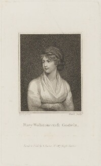 Mary Wollstonecraft, by James Heath, published by  Daniel Isaac Eaton, after  John Opie - NPG D14469