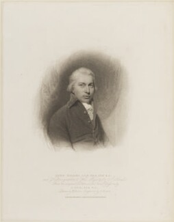 John Gillies, by Charles Picart, published by  T. Cadell & W. Davies, after  William Evans, after  John Opie - NPG D14470