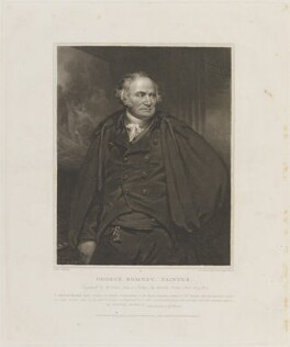 George Romney, by and published by William Bond, published by  Longman & Co, published by  Josiah Taylor, after  Sir Martin Archer Shee - NPG D14481