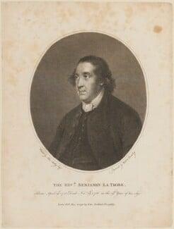 Benjamin La Trobe, by William Bromley, published by  John Stockdale, after  John Astley - NPG D14488