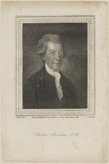 Thomas Sheridan, by Edmund Scott, published for  Charles Dilly, after  Robert Stewart - NPG D14500